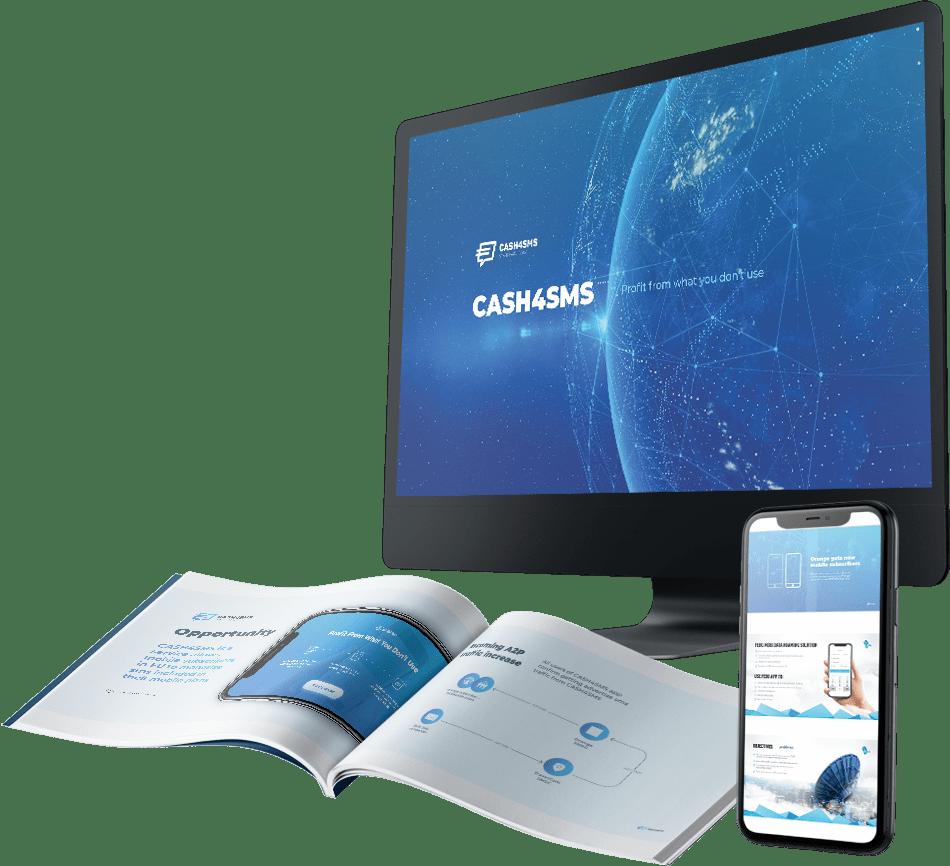 Презентация для IT сервиса CASH4SMS