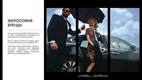 Презентация магазинов одежды Isabel Garcia