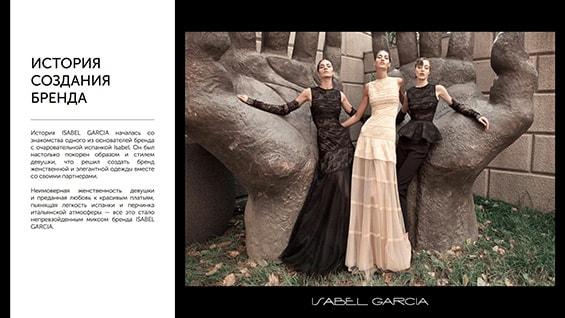Презентация магазинов Isabel Garcia