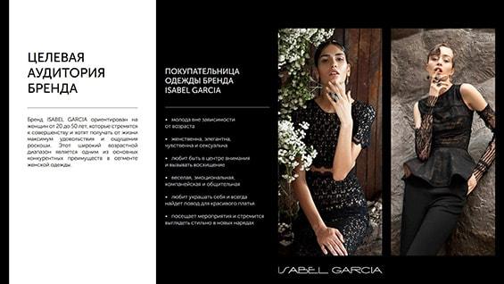 Презентация монобрендовых магазинов Isabel Garcia