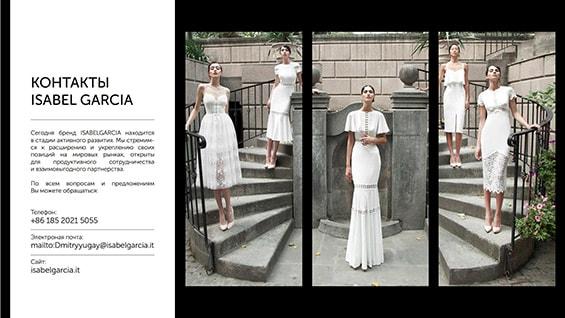Презентация популярного бренда одежды Isabel Garcia