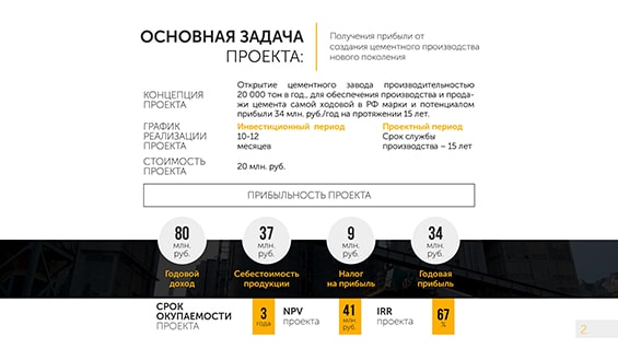 Prezentacija-cementnogo-zavoda-novogo-pokolenija-dlja-investorov-osnovaja-zadacha-proekta