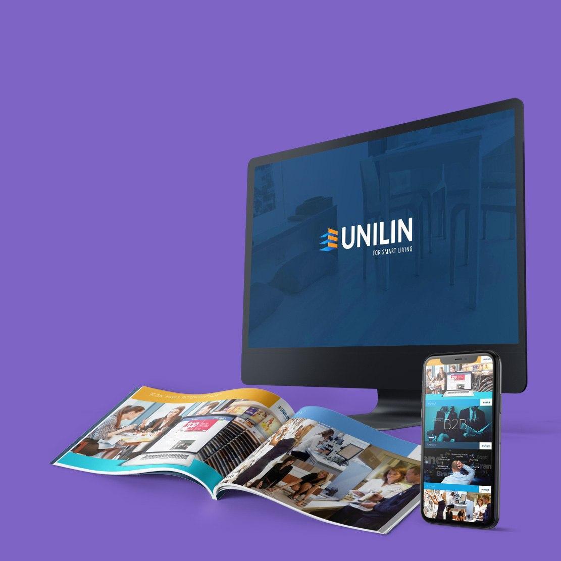 Подготовка компании Unilin для выступления перед дистрибьютерами