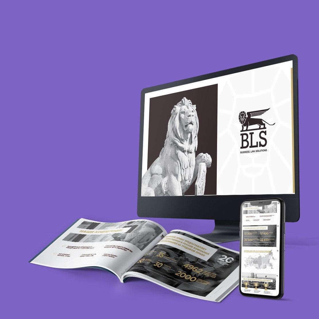 Презентация юридической компании BLS для клиентов