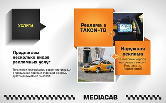 Презентация услуг компании Mediacab