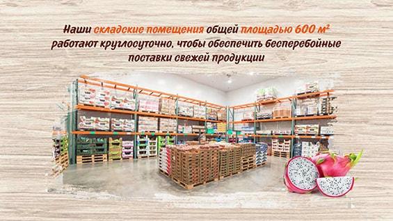 Презентация поставщика фруктов и овощей «Прайм Фрукт»