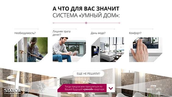 Презентация системы «Умный дом» для квартиры