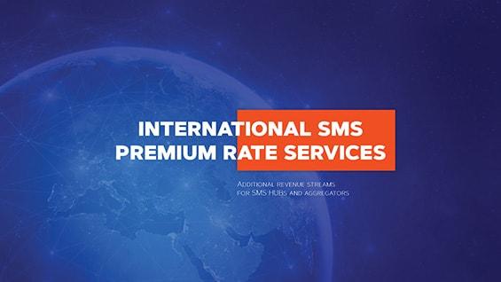Презентация ИТ-сервиса International SMS Premium Rate Services