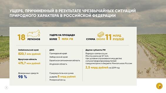 Презентация Министерства сельского хозяйства для Государственной Думы
