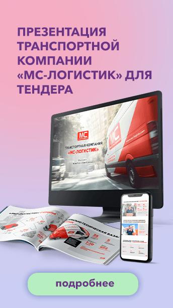 Презентация транспортной компании «МС-Логистик» для тендера
