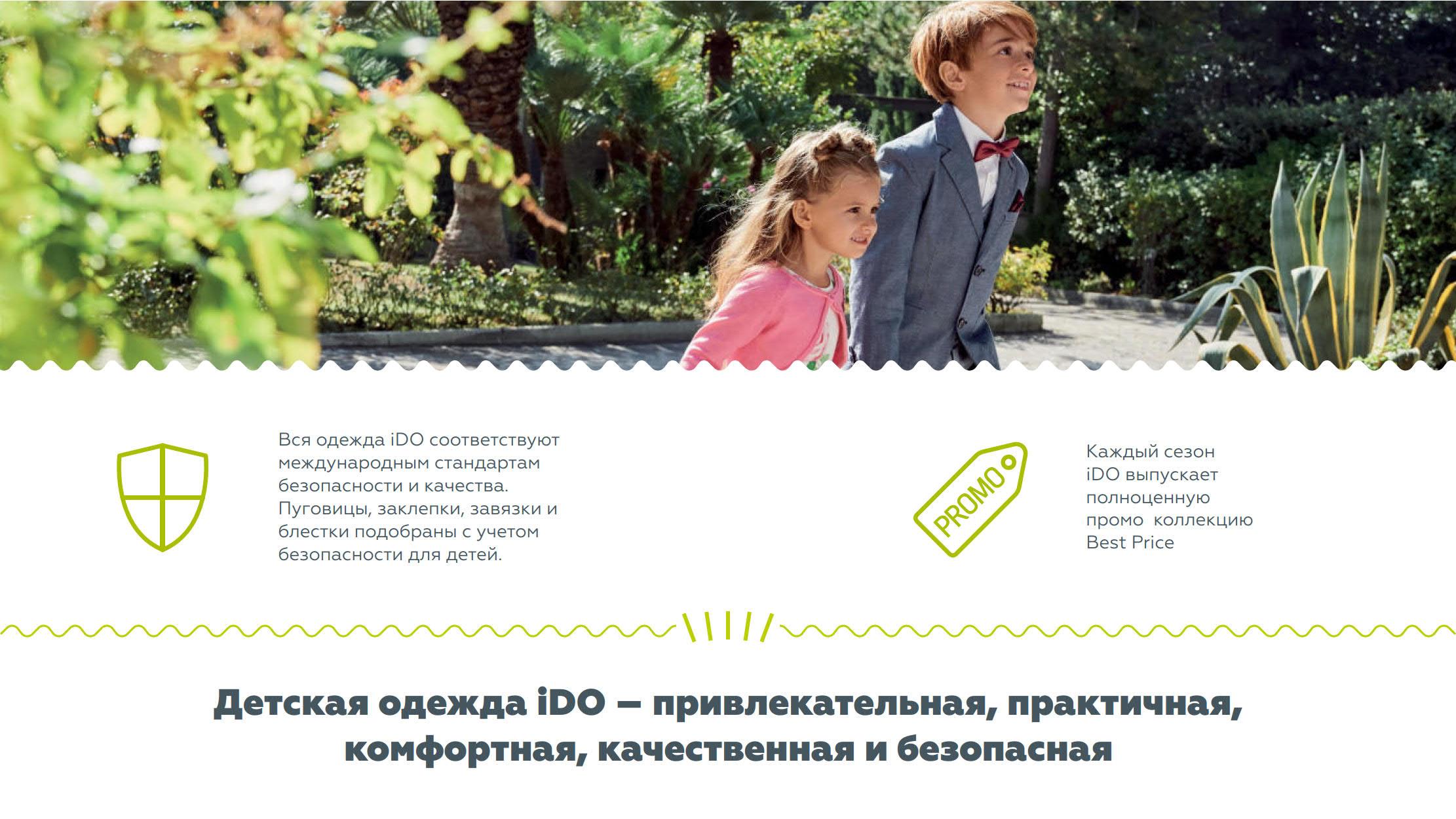 Презентация магазинов детской одежды iDO