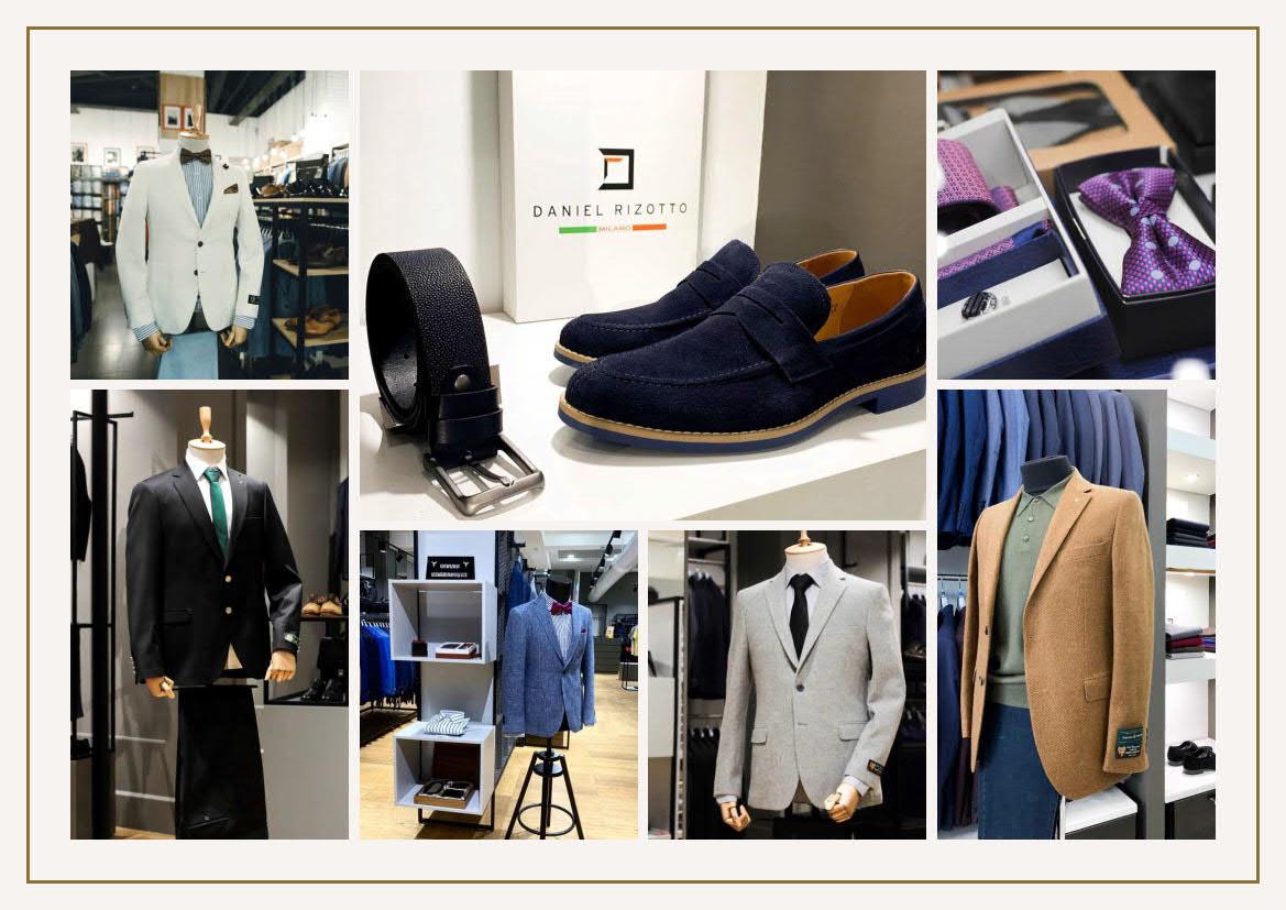 Презентация магазинов Daniel Rizotto для ТЦ