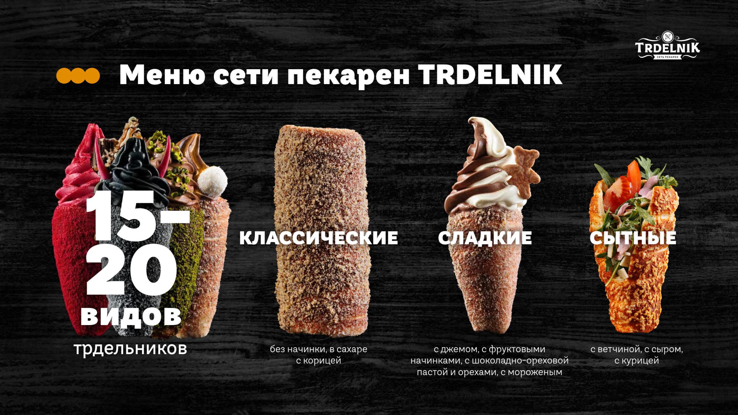 Презентация сети пекарен Trdelnik для арендодателя