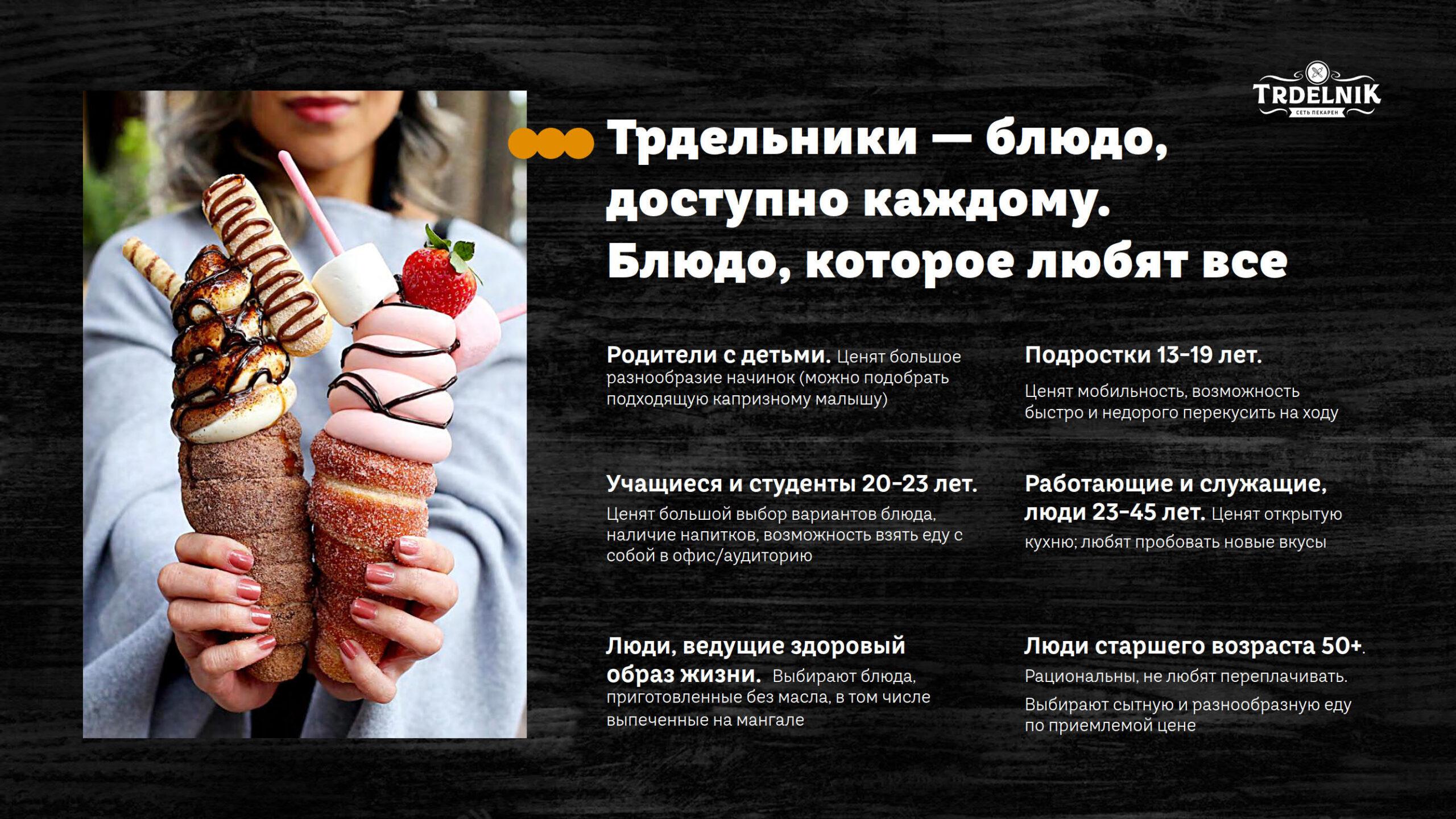Презентация сети пекарен Trdelnik