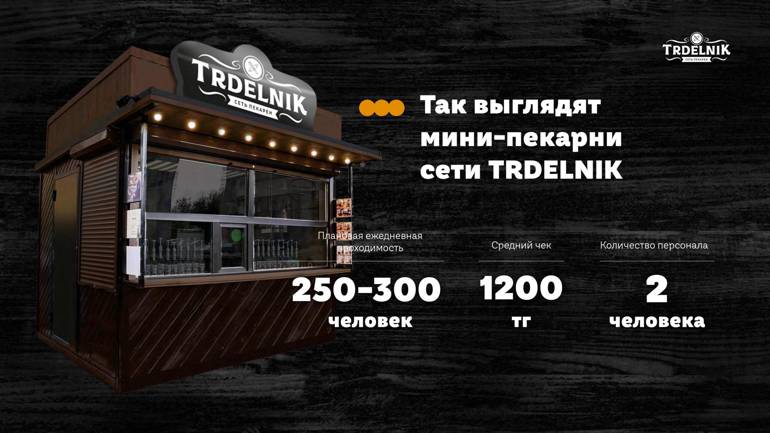 Презентация сети мини-пекарен Trdelnik для аренды в ТРЦ