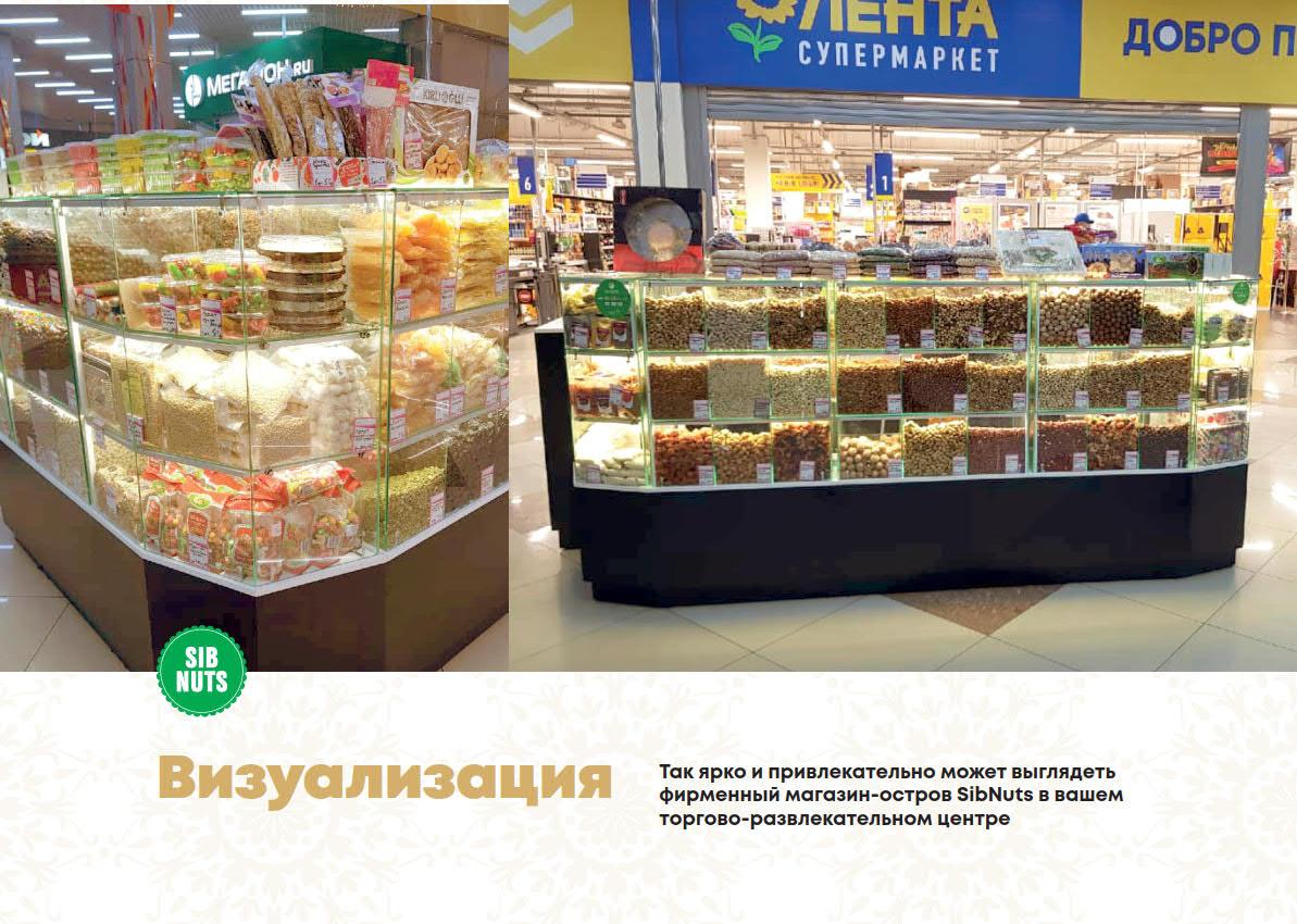 Презентация сети магазинов продуктов здорового питания для арендодателя