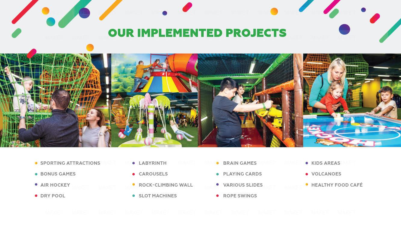 Презентация семейного парка «Jungle Jump» для партнеров и инвесторов