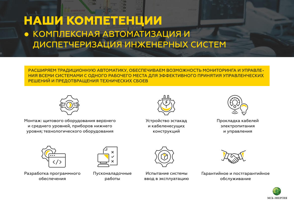 Презентация компании «МСК-Энергия»