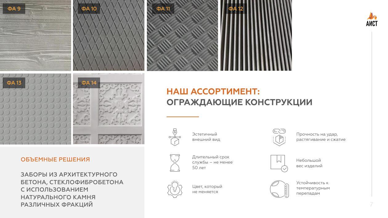 Презентация производителя фасадного декора для партнеров и клиентов