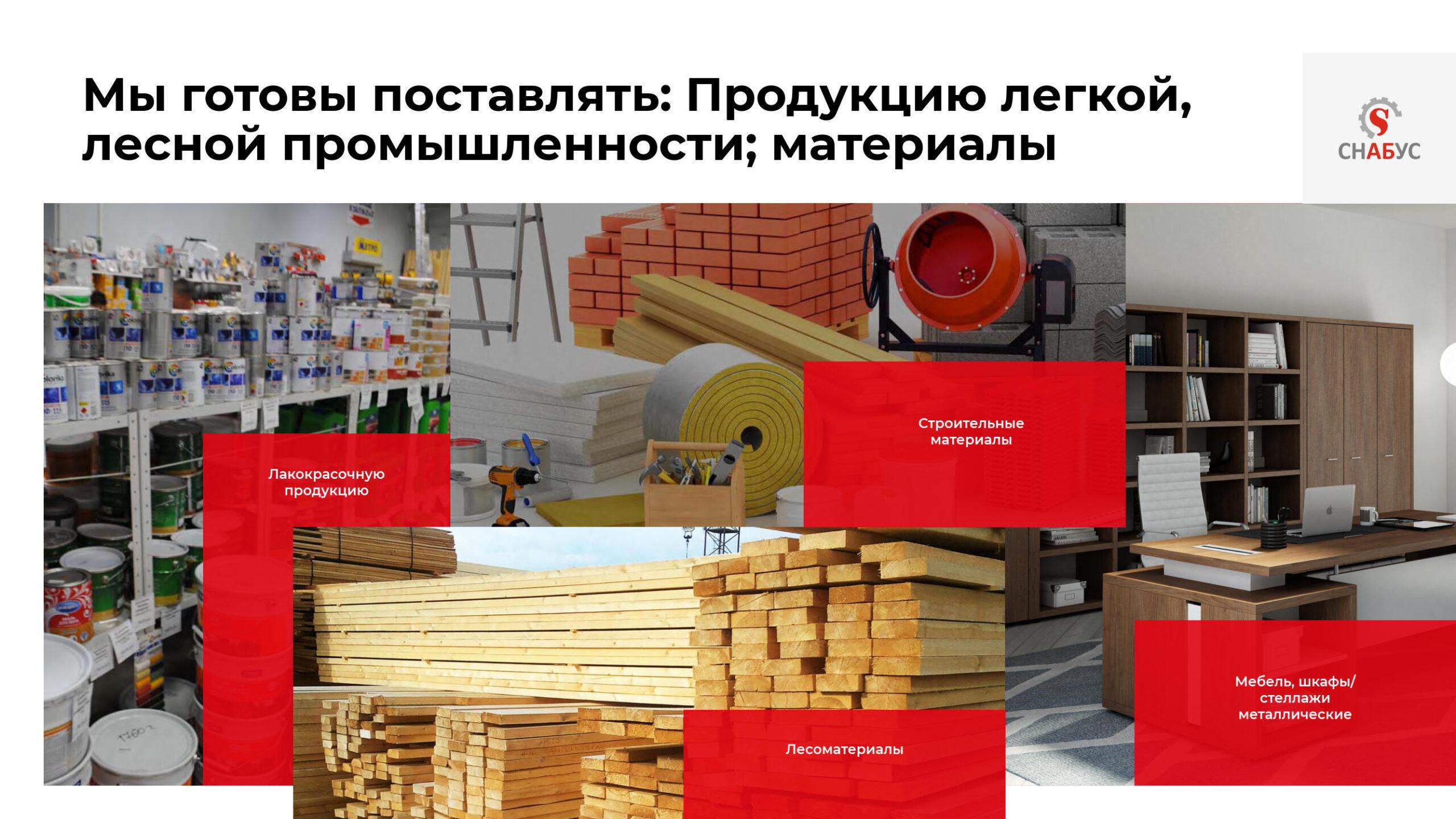 Презентация многопрофильной оптовой компании