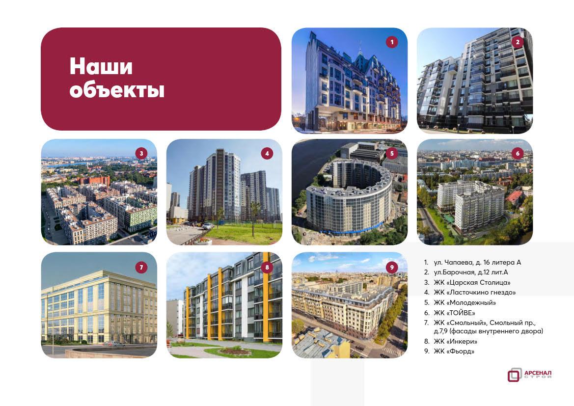 Презентация услуг по ремонту и обустройству фасадов